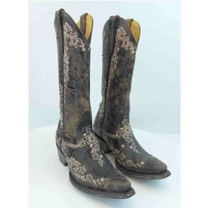 Old Gringo Leather Boots Embroidered L1049-2